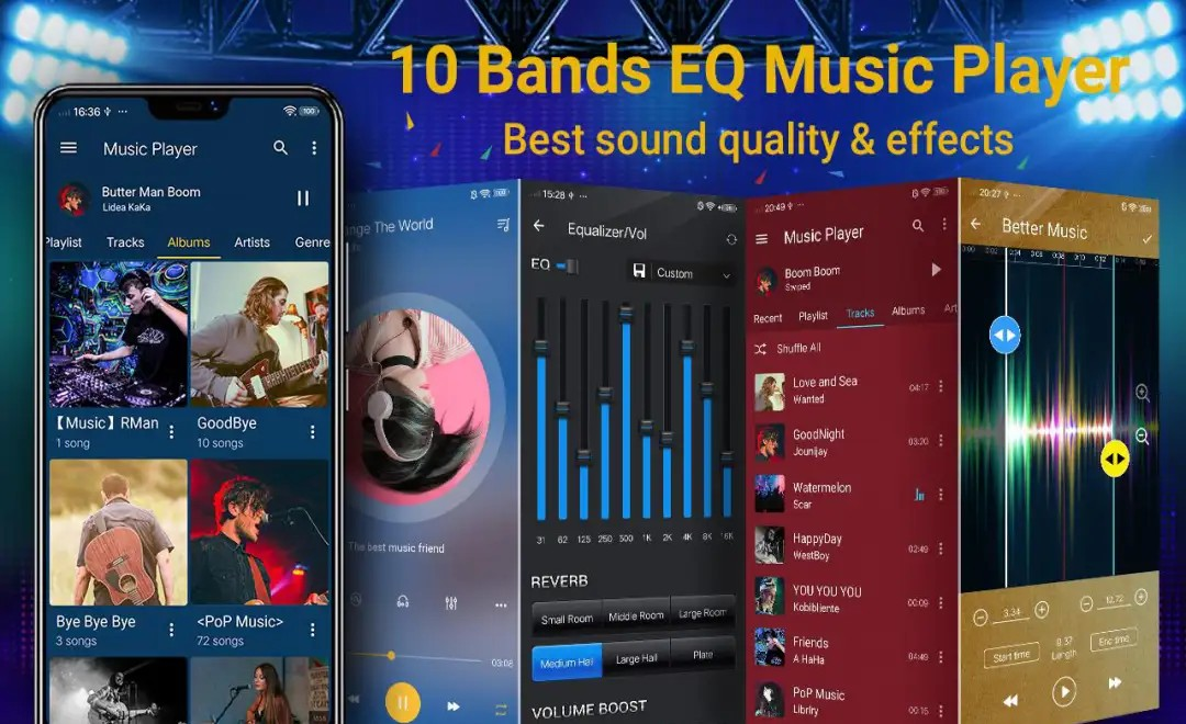 Music Player Bands Equalizer Apk