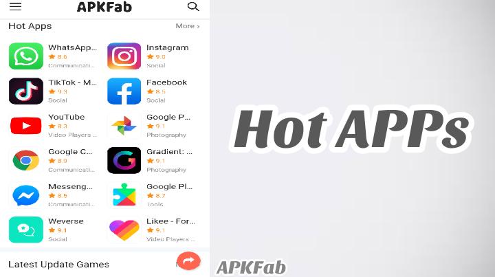 Hot Apps in apk