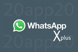 واتساب اكس بلس WhatsApp X plus اصدار V1.40