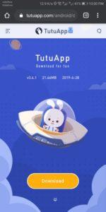 الارنب الصيني Tutuapp للأيفون