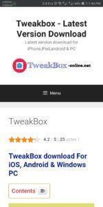 مميزات متجرTweakBox للايفون