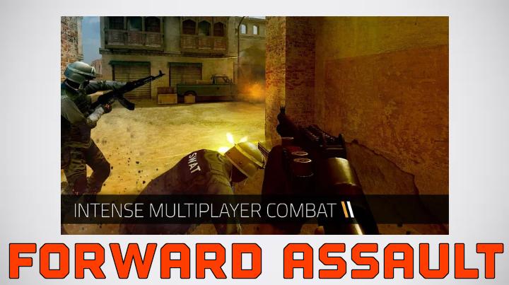 تحميل Forward Assault apk مهكرة
