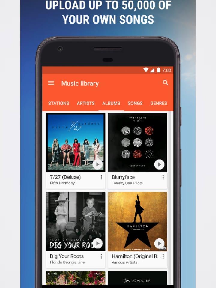 التعامل مع Google Music جوجل بلاي ميوزك 1