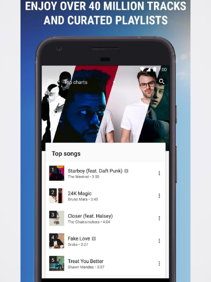 التعامل مع Google Music جوجل بلاي ميوزك 2