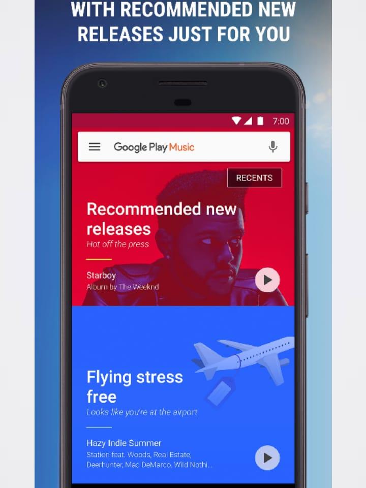 التعامل مع Google Music جوجل بلاي ميوزك