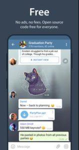 تحميل تطبيق تيليجرام apk بشكل مجاني