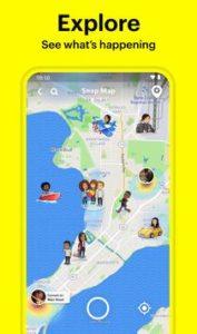 تطبيق سناب شات Snapchat المخصص لهواتف الأندرويد و تاريخ إصداره