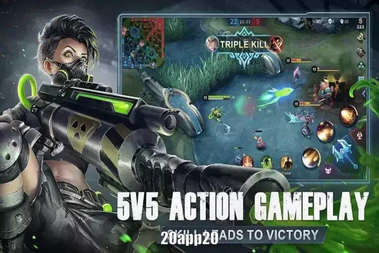تحميل لعبة Mobile Legends Bang apk للاندرويد