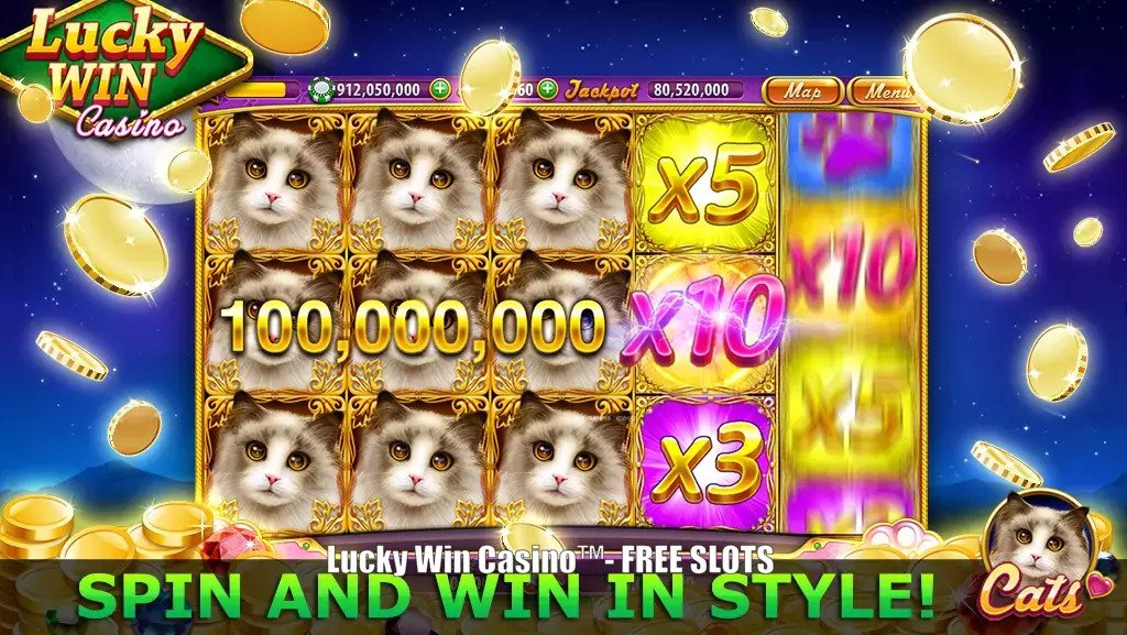 Lucky Win Casino™- FREE SLOTS‏ game